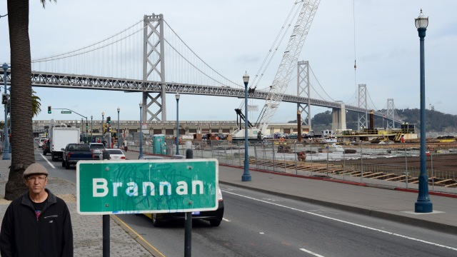 2012 by Brannan sign