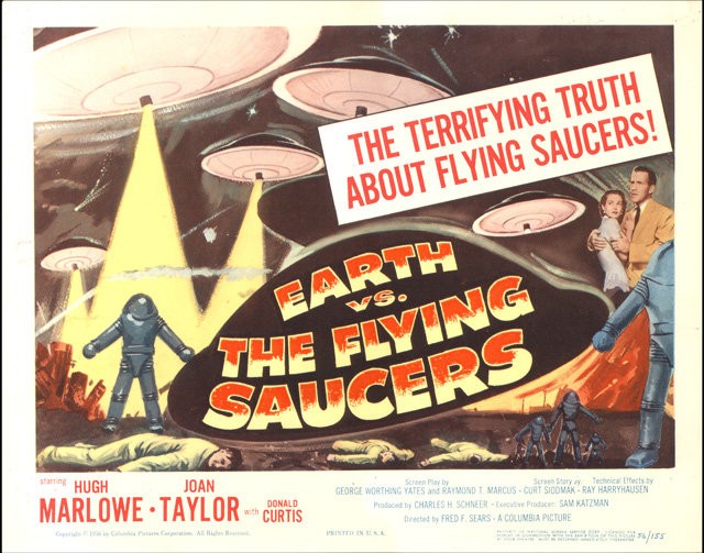 Earth vs the Flying Saucers (title card)
