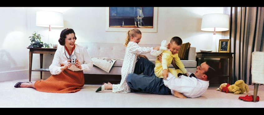 family in living room.01 | Lapsed Time Images