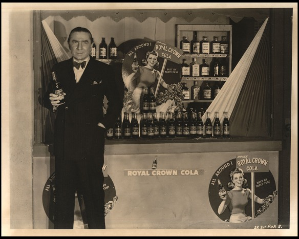 Royal Crown Cola, Bela  Lugosi