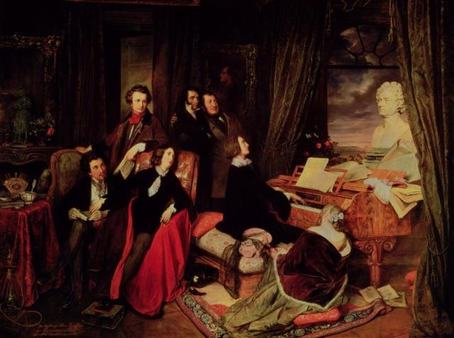 Liszt at the Piano