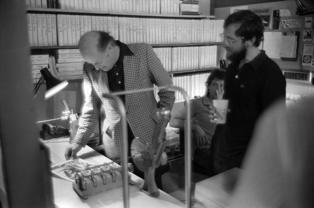 1981 RayH visits ILM